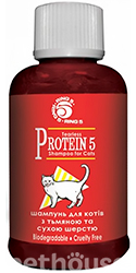 Ring5 Protein 5 Cat Shampoo- восстанавливающий шампунь для кошек
