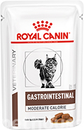 Royal Canin Gastrointestinal Moderate Calorie Feline Pouches