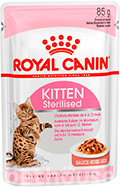 Royal Canin Kitten Sterilised в соусе