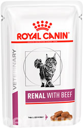 Royal Canin Renal Feline Beef Pouches