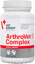 VetExpert ArthroVet HA Complex Small breed & cats