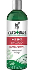Vet's Best Hot Spot Shampoo Шампунь против зуда и раздражений для собак