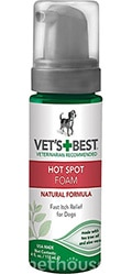 Vet's Best Hot Spot Foam Моющая пена против зуда и раздражений для собак