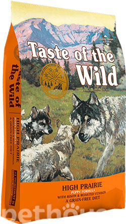 Taste of the Wild High Prairie Puppy Formula, фото