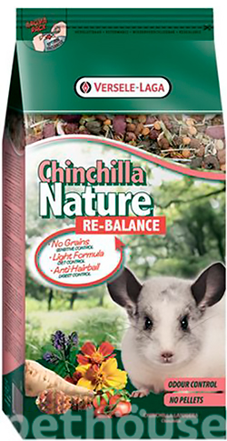 Versele-Laga Nature Chinchilla Re-Balance, фото